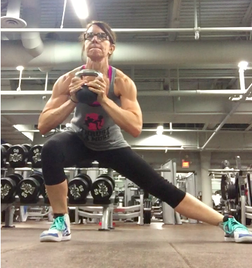 Goblet Lateral Lunges